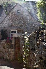Village on the Stevenson trail in the Cévennes France