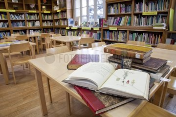 Horticulture school library