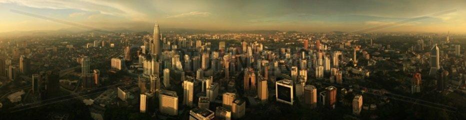 Kuala Lumpur to the Menara Tower in Malaysia
