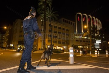 Policing at the Stade Louis II - Monaco