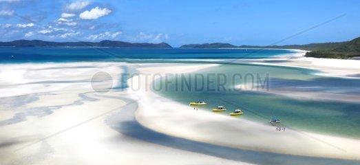 Whitehaven Beach - Whitsunday Island Queensland Australia