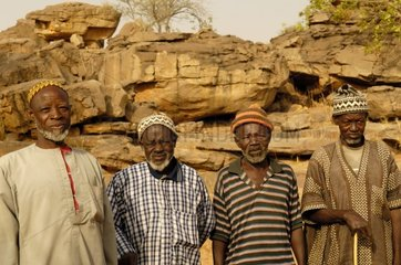 Wise of a village in Country Dogon Mali