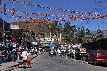 City of Munnar Kerala India