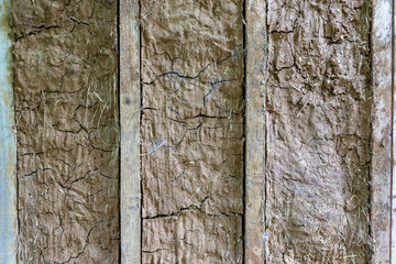 Wall of daub