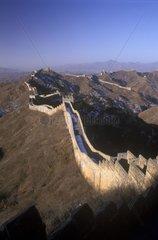 Grande Muraille dans les Monts d'Or Jinshan Chine