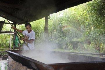 Manufacture of Cassava flour - Amapa Brazil Amazon