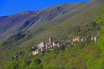 Village Cocullo - Sankes Ceremony Abruzzo Italy