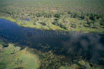 Vue aérienne du Parc National de Kakadu Australie