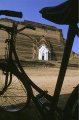 Inachieved pagoda of Mingun Burma