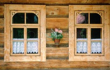 Zakopane  maison traditionnelle en bois