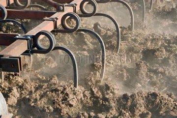 Scarifier used for the soil work France