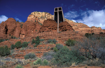 Arizona The Chapel of the Holy Cross Church in Red rock country Sedona