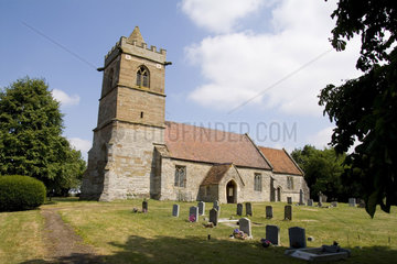 Three Parishes Church in Grafton in The Midlands in the country of Great Britian England