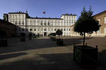 Turin  the Palazzo Reale at the Piazza Castello