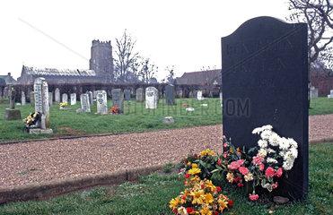 UK.Aldeburgh cemetery(Suffolk).Composer Benjamin Britten(1913-1976).