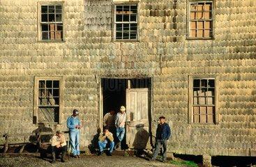 Ile de Chiloé  maison traditionnelle