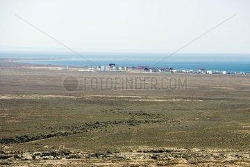 Village de loisir de Fétisovo au bord de la Mer Caspienne