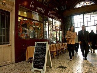 Restaurant le petit Choiseul  passage Choiseul