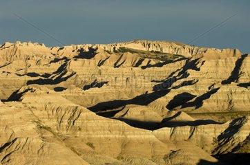 Landscape Badlands NP South Dakota USA