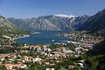 Landscape around Kotor in Montenegro