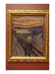 Oslo  painting The Scream by Edward Munch