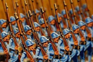 Collection de petits soldats France
