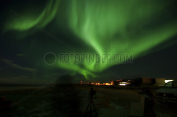 Manitoba  Churchill  Northern lights  aurora borealis