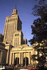 New Eastern Europe Warsaw Poland Museum Techniki old Stalin Russian architecture