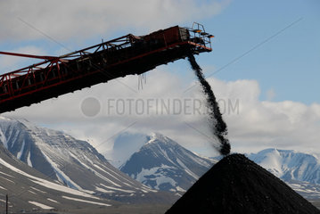 SVALBARD NORWAY At 78 degrees latitude  Svea is the world___s northernmost coalmine and the only one in Scandinavia. Located 1 000 kilometers from the North Pole  on Svalbard  the Norwegian archipelago in the Arctic Ocean  Svea  has  in its 92-year histor