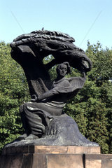 New Eastern Europe Warsaw Poland composer Chopin Statue music memorial