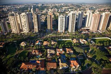Ribeirao Preto city  Sao Paulo State  Brazil. High-class neighborhood.