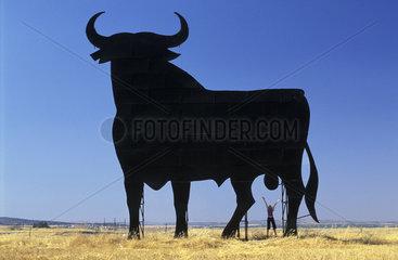 The Osborne bull in Extremadura