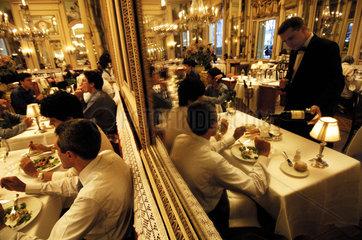 Turin  the Cambio restaurant