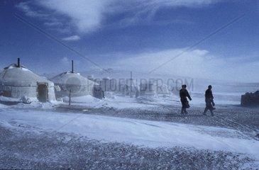 Winter in Mongolia