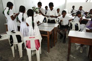 Maldives  schoolchildren