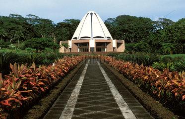 Bahai temple in Apia