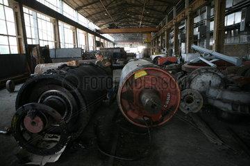 Open coalmine in Bulgaria