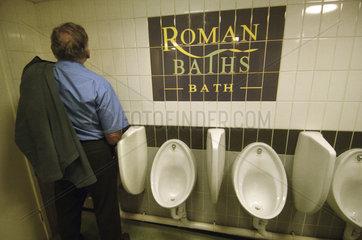 Bath  toilets of the Roman baths