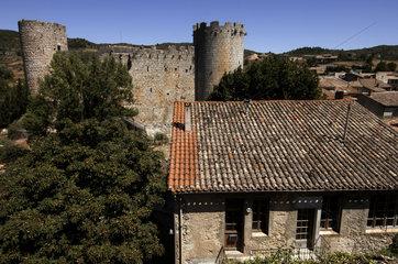 The castle Villerouge Termenes