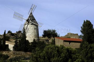 Cucugnan windmill