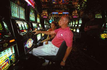 Arizona gambling casino in a Indian reserve
