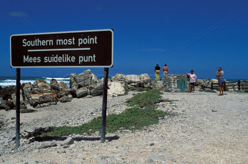 Cape Agulhas The Southern most point of Africa