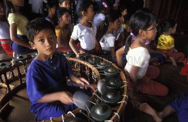 Phnom Penh  school for traditional Apsara dancing