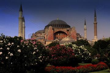 Beautiful Saint Sophia Church Hagai Sophia Built in 1453 in Istanbul Turkey