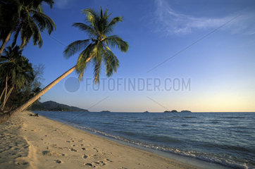 The unspoilt beach of Ko Chang Island