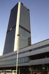 New Eastern Europe Warsaw Poland Marriott Hotel skyscraper