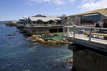 Exterior view of the Monterey Bay Aquarium California USA