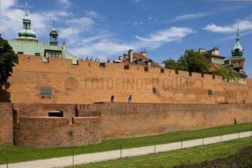 Royal Palace Historic Downtown Warsaw Poland