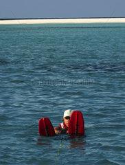 Maldives  water skiing