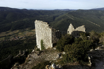 The Castle of Peyrepertuse